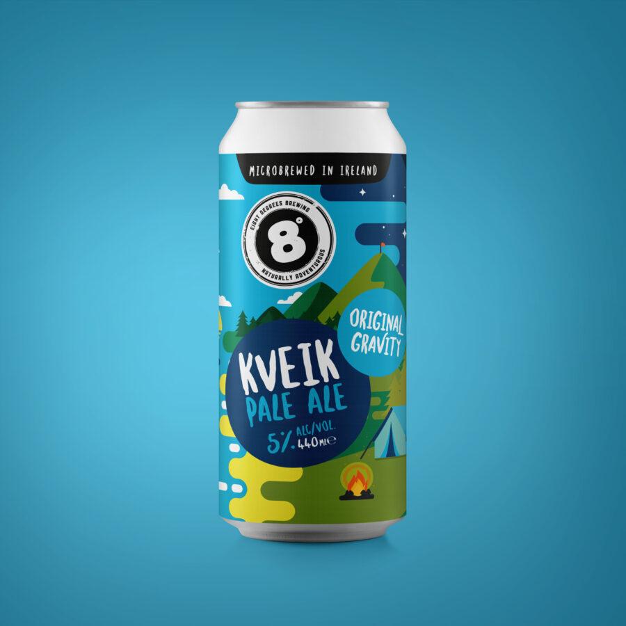 Eight Degrees Brewing - ORIGINAL GRAVITY Kveik Pale Ale - Blue