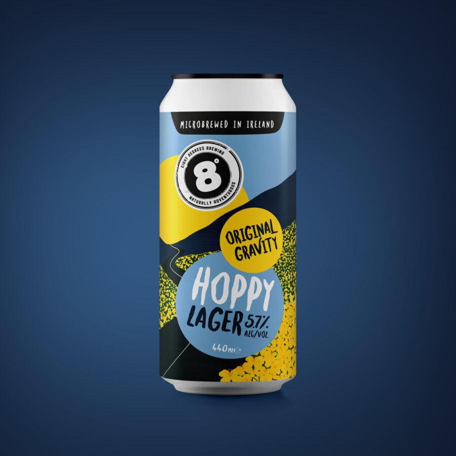 Eight Degrees - Original Gravity Hoppy Lager - BL