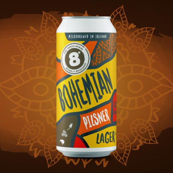 CAN - Bohemian Pilsner Lager (24x440ml)
