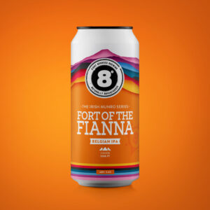 CAN - IRISH MUNRO Series #4: Fort of the Fianna Belgian IPA (24x440ml)