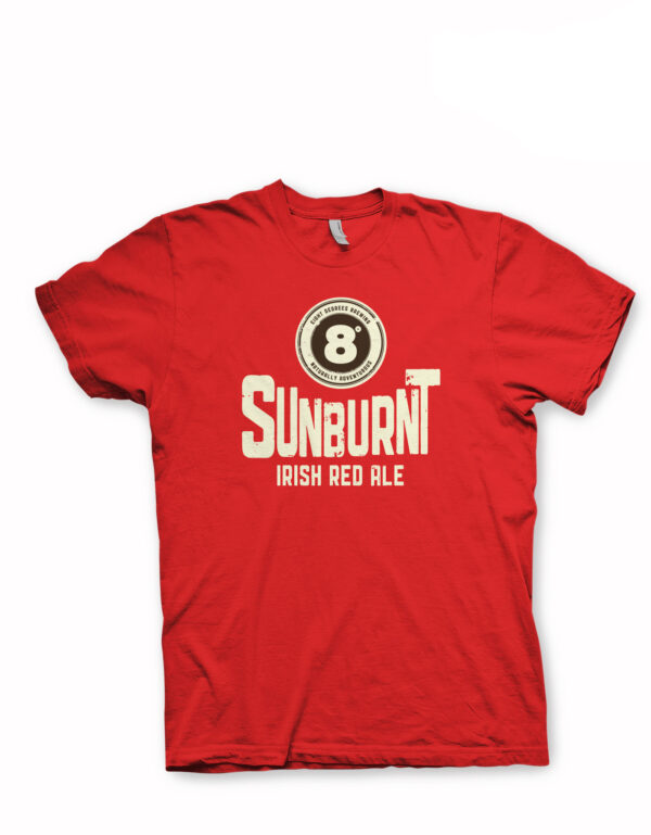 Sunburnt Irish Red Ale t-shirt