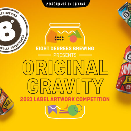 Eight Degrees Brewing - 2021 Label Artwork Poster - cropped